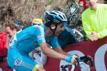 Fabio Aru, vincitore della tappa